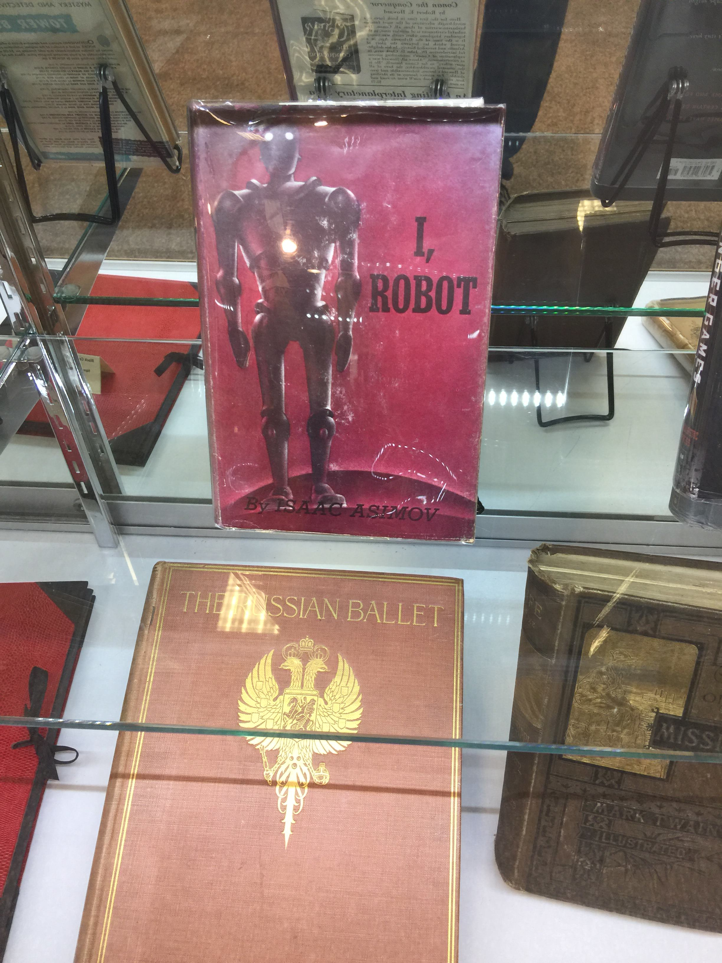 I, Robot by Isaac Asimov first edition from Gnome Press (Stories originally appeared in Super Science Stories and Astounding Science Fiction)